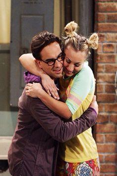 Big Bang Theory:  Leonard Hoffsteder & Penny (does she have a last name?) (Johnny Galecki & Kaley Cuoco)