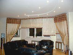 Living Room Curtains Contemporary, Modern, Valance Curtains, Living Room Furniture, Living Room Designs, Lights, Interiors, Home Decor, Trendy Tree