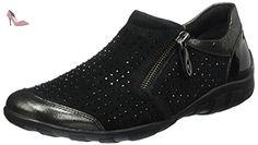 Remonte R3405, Mocassins Femme, Noir (Antracite/Schwarz/Schwarz / 02), 39 EU - Chaussures remonte (*Partner-Link)