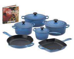 Le Creuset Signature 10-Piece Cookware Set with Book