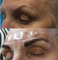 Permanent Cosmetics Eyebrow Tattoo - Before & After Photos Permanent Makeup Eyebrows, Eyebrow Makeup, Beauty Makeup, Before After Photo, Eyebrow Tattoo, Cosmetics, Tattoos, Campaign, Content