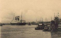 Red Star Line, Belgenland op de Schelde voor de rede