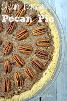 Clean Eating Pecan P