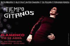 Viernes de Flamenco!!! Cena 21:30 hs - Show 23:30 hs || Reservas 4776 6143