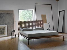 Double Bed Twine by Horm | #designbest #wood #walnut @hormdesign