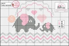 1 million+ Stunning Free Images to Use Anywhere Baby Cross Stitch Patterns, Cross Stitch Love, Cross Stitch Borders, Cross Stitch Designs, Cross Stitching, Cross Stitch Embroidery, Elephant Cross Stitch, Cross Stitch Animals, Crochet Cross