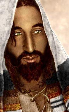 O verdadeiro rosto de Jesus - ele teria sido um homem do Oriente Médio, e não a imagem do de olhos azuis, de pele clara, luz homem de cabelos castanhos em suas imagens da bíblia.