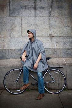 Style-Conscious Rain Gear : cleverhood rain cape
