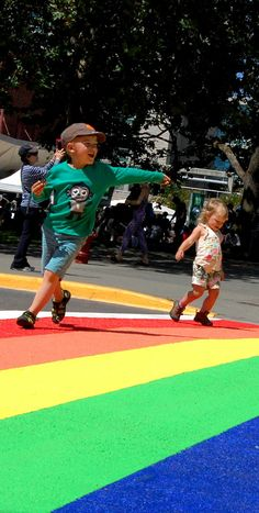 It's almost Pride week in Victoria, B.C! The city now sports rainbow crosswalk in downtown in honour of the LGBT community. #pride #lgbt #explorevictoria | www.tourismvictoria.com