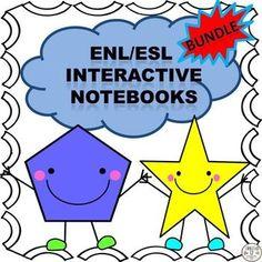 This ENL/ESL  Interactive Notebook Bundle includes four interactive notebooks. Your students will  create a picture dictionary, interact with  the colors, shapes and the American Thanksgiving holiday. Great bundle for back to school!See links below for fu