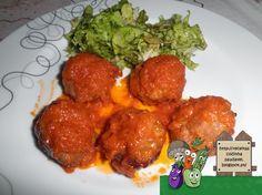 Receitas Saudáveis: Almôndegas com Molho de Tomate
