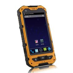 Android 4.2 OS Smartphone, Dual Core 1.2GHz, Dual Sim. This rugged smartphone is water proof, dust proof & comes with 3G.