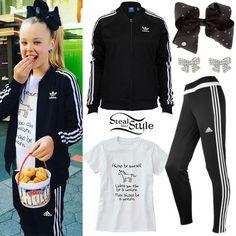 JoJo Siwa: Adidas Tracksuit, Unicorn Tee