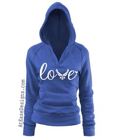 Hey, I found this really awesome Etsy listing at https://www.etsy.com/listing/204881495/air-force-love-pullover-vneck