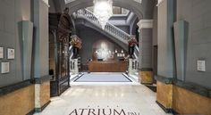 Acta Atrium Palace Barcelona This elegant hotel is 250 metres from Paseo de Gracia Metro Station and Boulevard. Plaza Catalunya is a 5-minute walk away. It offers free Wi-Fi and a spa area with indoor swimming pool.