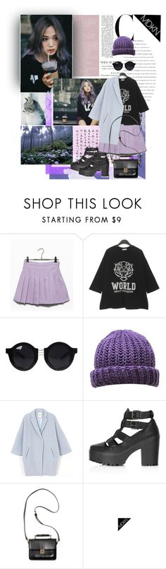 """""""Untitled #293"""" by ani-onni on Polyvore featuring Topshop, Monki and MDKN"""