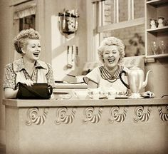 Lucy & Ethel: my favorite people