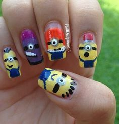 Deable Me Nails My Minion Minions Party