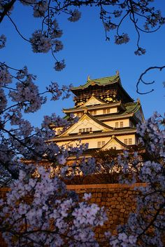 Osakajo Castle, Japan