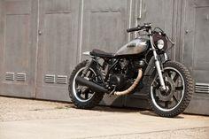 "Racing Cafè: Yamaha SR 250 1983 ""Woody"" by The Hookie"