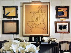 Hubert de Givenchy at the Hôtel d'Orrouer, as it appeared in 1994, Part 9, Antechamber of Ground Floor Apartment, looking wes