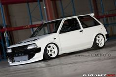 Volvo 2.3Turbo & RWD chassis, with EP70 Starlet shell around it.