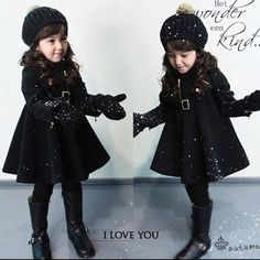 Baby Doll Coat from Little Diva Kids Boutique