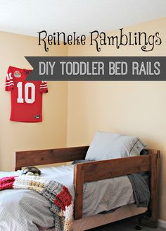 DIY Toddler Bed Rails Archives
