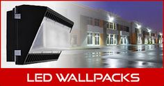 Wall pack lighting products.