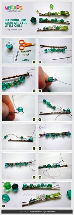 diy bobby pins-good gifts for little girls