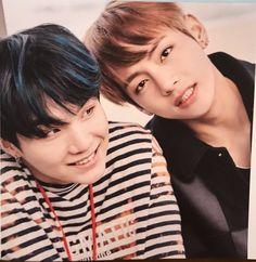 BTS Suga and V