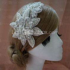 Handmade Rhinestone Wedding/Special Occasion Headbands - USD $34.99