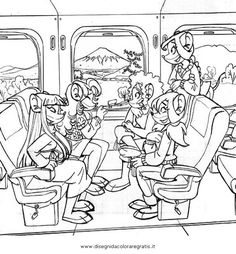 thea sisters | thea sisters colouring pages