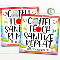 Back To School Teacher, First Day Of School, School Fun, School Office, School Days, School Stuff, Teacher Gift Tags, Teacher Treats, Diy Gifts For Teachers