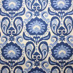 Name: Grand Ikat Color: Blue