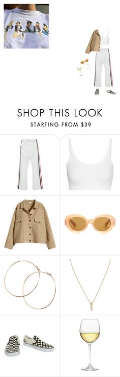 """""""Prada to nada"""" by puno266 ❤ liked on Polyvore featuring Marni, Helmut Lang, H&M, Acne Studios, Jennifer Creel, Yves Saint Laurent, Vans and Nordstrom"""