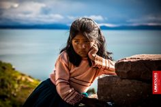 Photogenic little girl from Taquile Island, Puno.