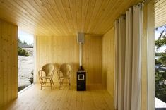 Image 7 of 12 from gallery of Villa Mecklin / Huttunen + Lipasti + Pakkanen Architects. Photo by Marko Huttunen Beautiful Home Designs, Beautiful Homes, Beautiful Farm, Villa, Guest Cabin, Weekend House, Lakefront Homes, Cabins In The Woods, Finland