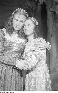 Hildegard Knef and Gudrun Genest