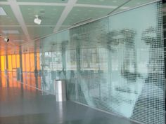 2x4 Inc. graphics at the Illinois Institute of Technology's, McCormick Tribune Campus Center (Rem Koolhaas)