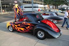 Hot rods always look better with #flames