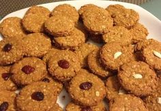 Healthy Snacks, Healthy Recipes, Paleo Dessert, Biscotti, Cereal, Bakery, Food And Drink, Sweets, Cookies