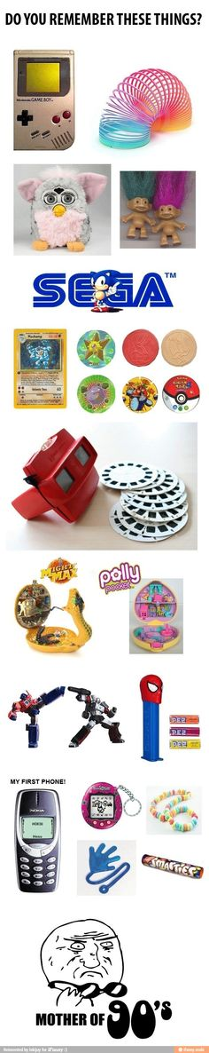 Do you remember these things? / iFunny :)
