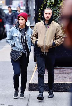 "dailymarvelqueens:  "" "" May 02 - Kate Mara & Jamie Bell out in New York  "" """