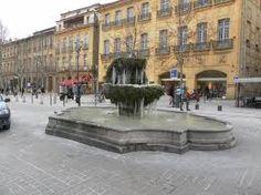 Aix en provence - Fontaines