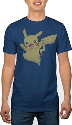 Pokemon Pikachu Pika Jump Mens Distressed Navy T-shirt L ... https://www.amazon.com/dp/B01CIN4S1I/ref=cm_sw_r_pi_dp_abbOxbQR4AZPX