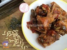 SECONDI PIATTI DI NATALE Chicken Salad, Finger Foods, Italian Recipes, Salads, Pizza, Turkey, Dishes, Chicken, Italian Cooking
