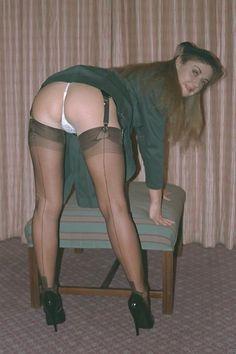 Hot wife ass heels stockings