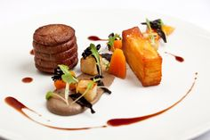 Beef Fillet with Pomme Anna and Mushroom Purée