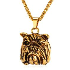 U7 Brand American Pit Bull Terrier Dog Necklace & Pendant